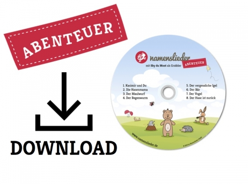 Namenslieder mit Sky du Mont (Download)
