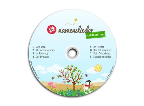Namenslieder CD JAHRESZEITEN