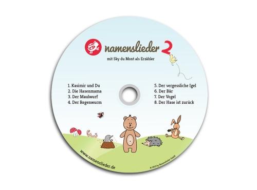 Namenslieder CD mit Sky du Mont