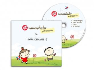 Namenslieder CD KUNTERBUNT + Kuscheltier
